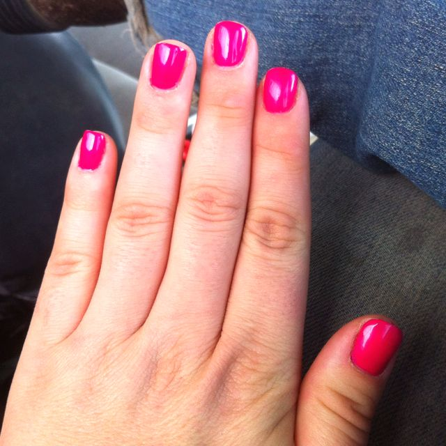 Gelish Nail Polish That Is Good For Two Weeks The Color Shown Gossip