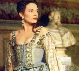 Veronica's blue courtesan dress from Dangerous Beauty