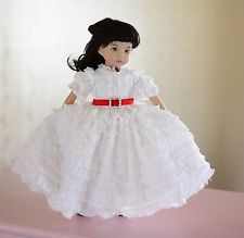 """Beautiful Scarlett""Civil War Dress,Outfit,Clothes for 13""Effner Little Darling"