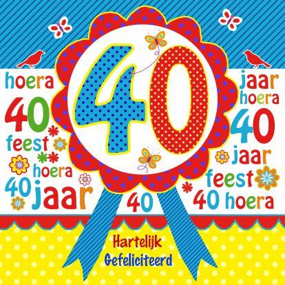 Verjaardag Vrouw 40