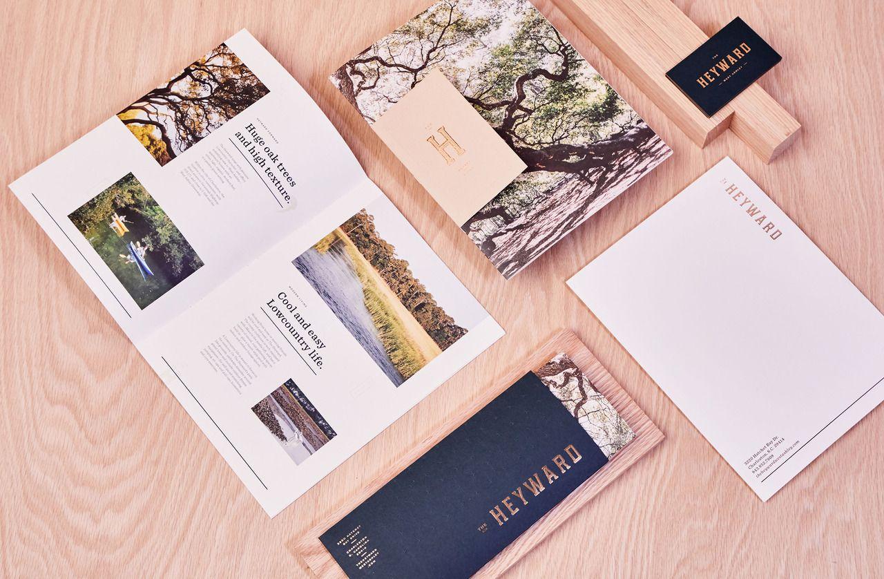 The Heyward South Carolina Based Design Studio Stitch Design Co Has Created An Identity For Branding Design Stitch Design Identity Design Studio