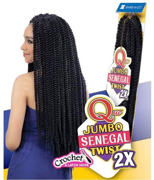 Milkyway Que Jumbo Senegal Twist 2x Braiding Hair Havana Mambo