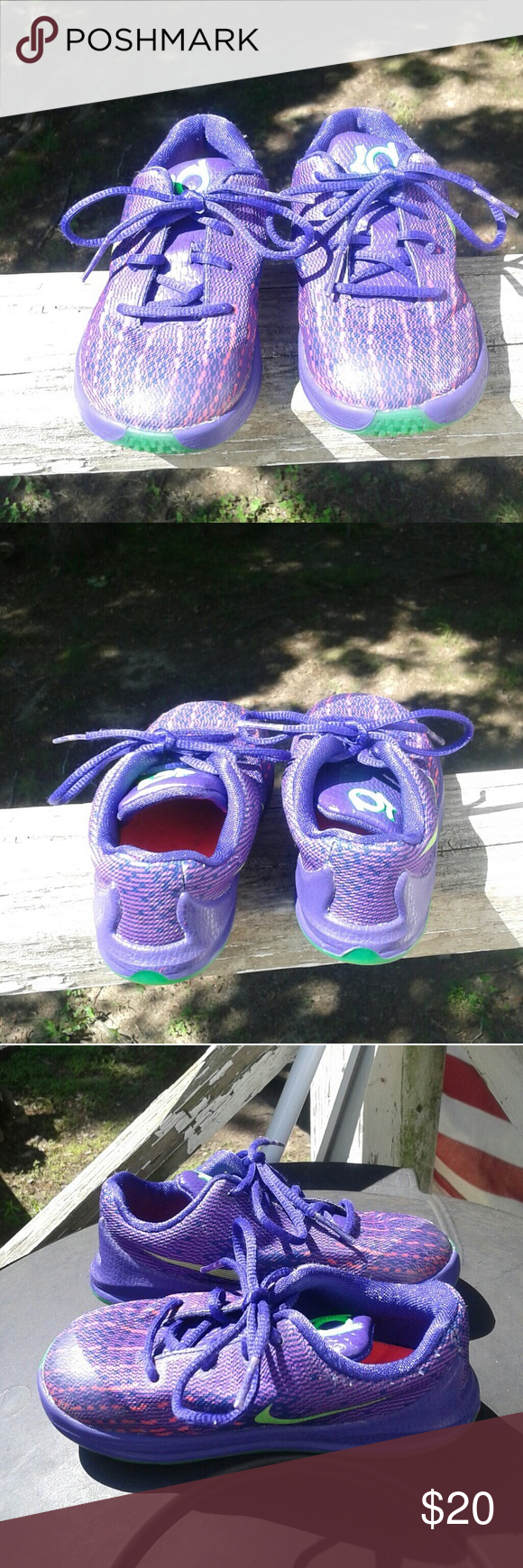 purchase cheap c75f0 bdb17 Nike Kd 8 Shoe's girls size 8c ( toddler ) This is a used ...