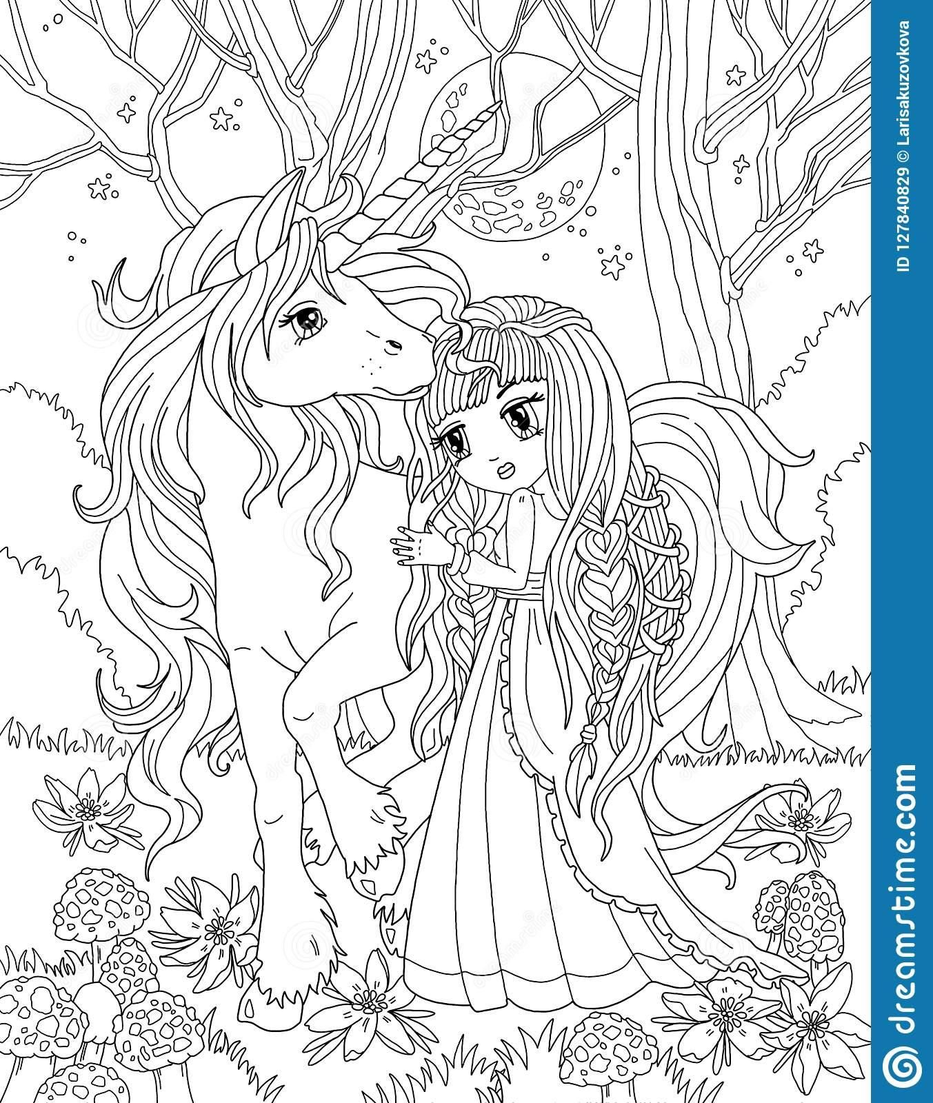 16 Coloring Page Unicorn Princess In 2020 Unicorn Coloring Pages Princess Coloring Pages Princess Coloring
