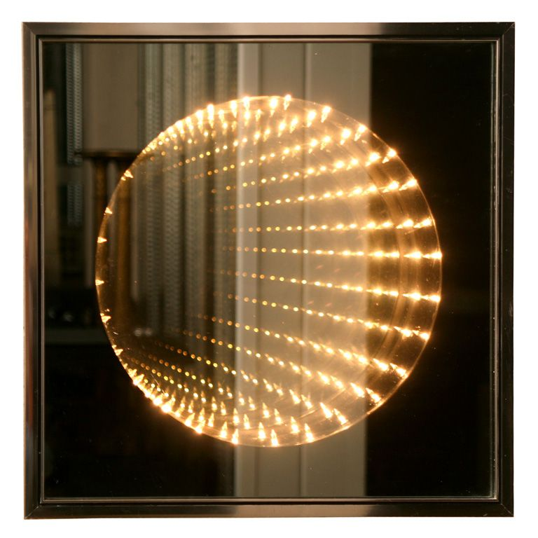 Infinity Light Box Wall Art | Art | Pinterest | Infinity lights ...