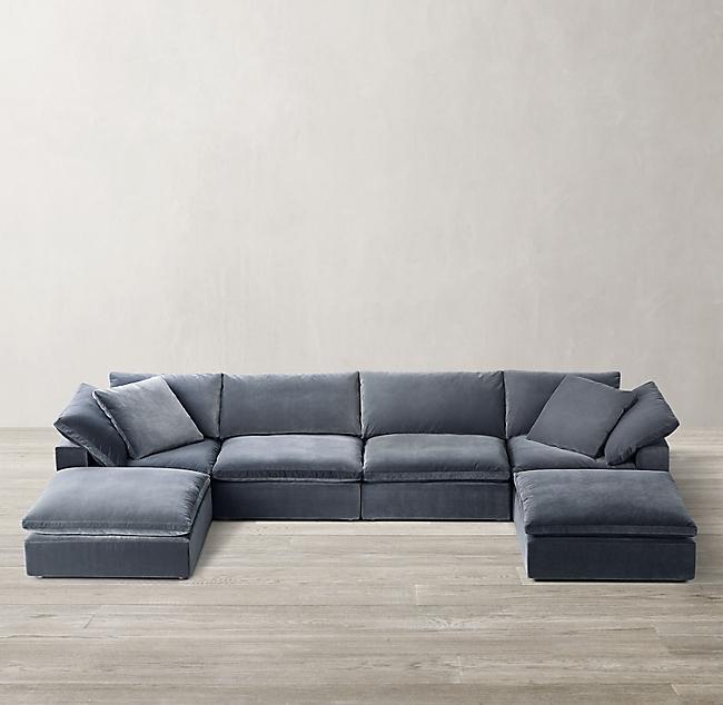 Cloud Modular Customizable Sectional, Cloud Sectional Sofa