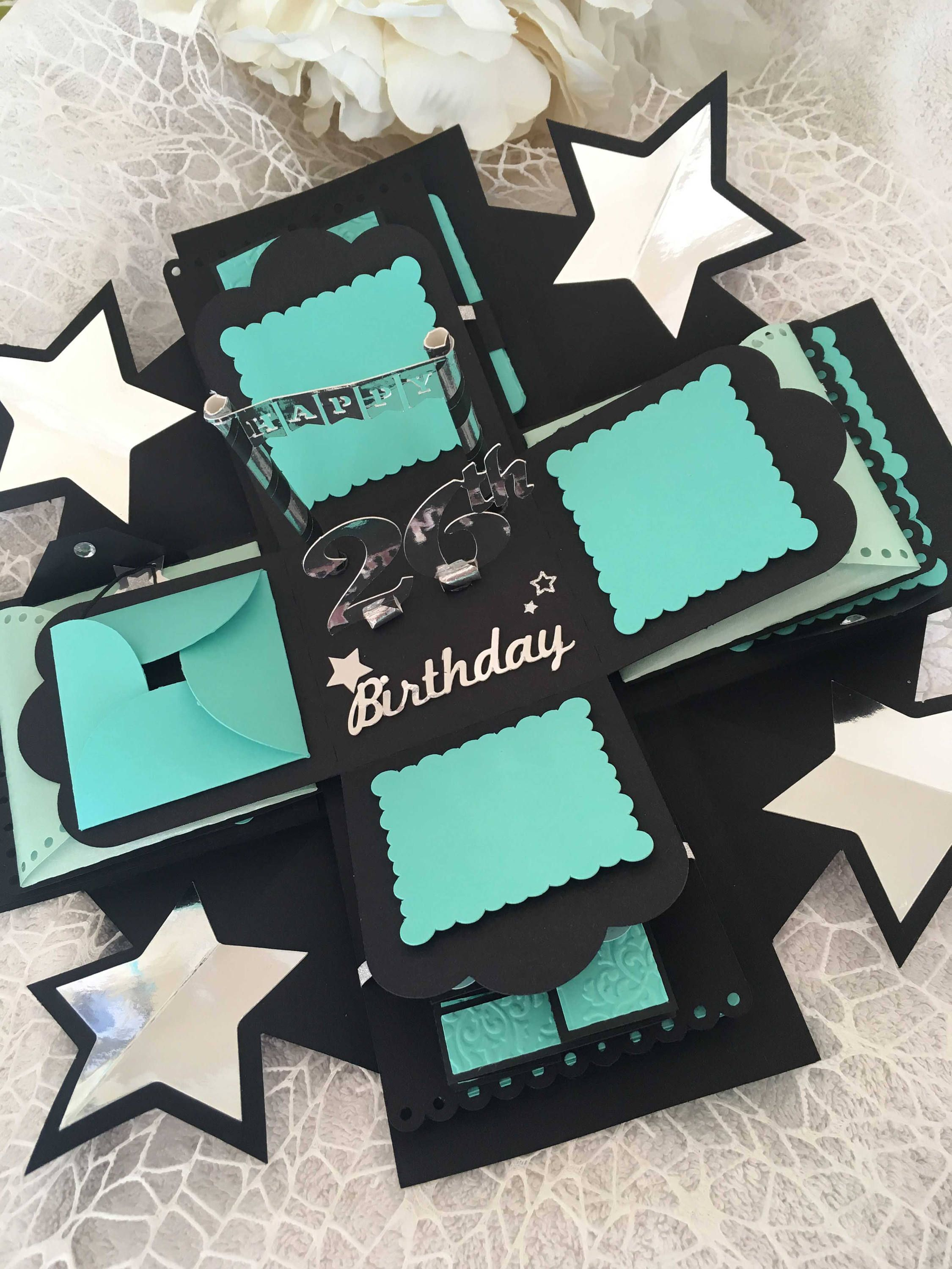 Photobox Party Happy Birthday Explosion Photo Box Birthday Photo Box