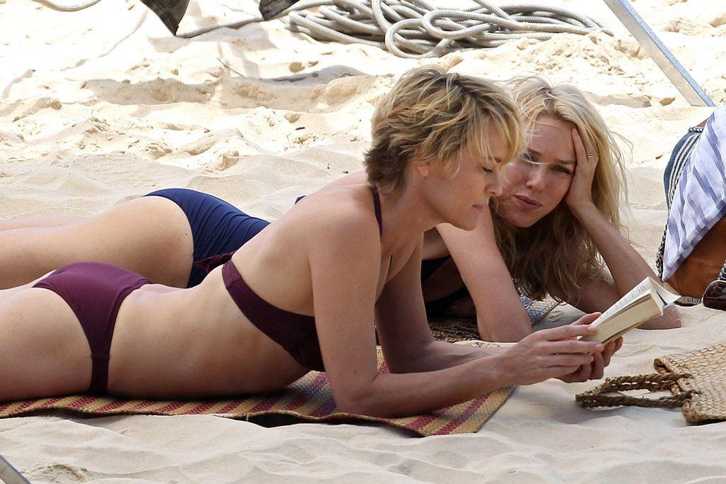 Naomi Uso Body Measurements: Naomi Watts And Robin Wright Show Off Their Beach Bodies