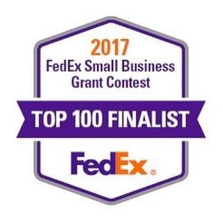 "Thank you for your votes! Appendage rose to the Top 100 of the thousands of entries in the 2017 FedEx Small Business Grant Contest! ""The Top 100 finalists were selected based on several factors including their compelling business stories plans for using the grant money product/service offered brand alignment use of social media and votes received."" Now to create a video for the second submission. <3"