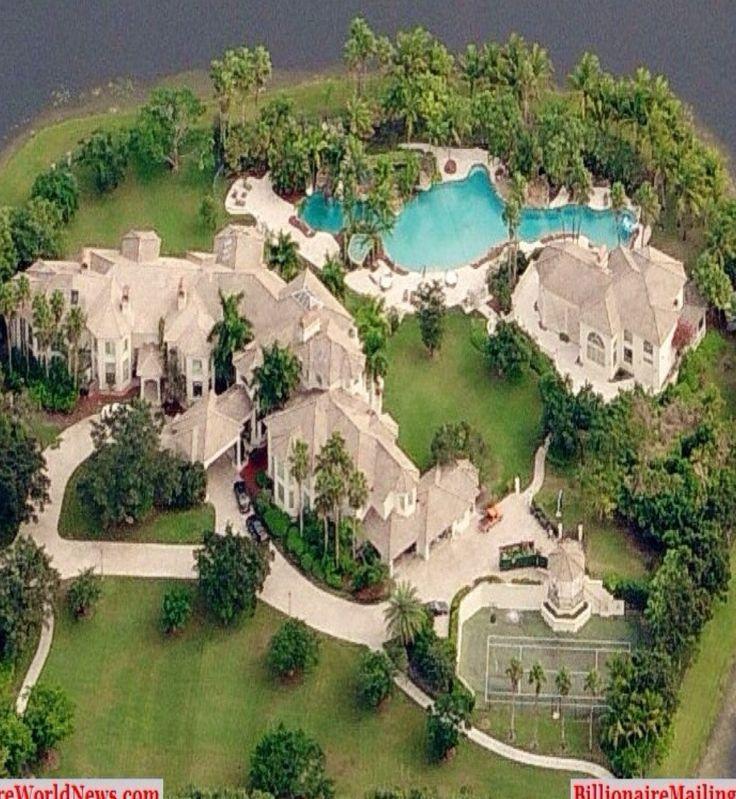 Mega Mansion Floor Plans: #Luxury Mansions In Florida #LuxurydotCom