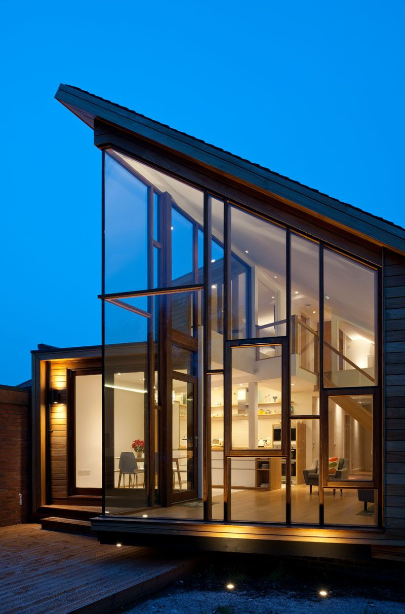 Solen Vinklar, a contemporary house extension, designed by David Blaikie Architects #homeextensions