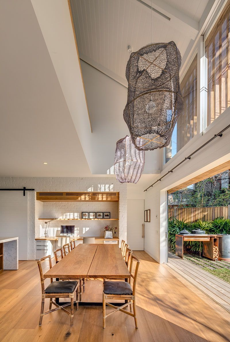 Outdoor living design with bbq area from a real australian home - As With Many Australian Homes Indoor Outdoor Living Is Often Included In The Design