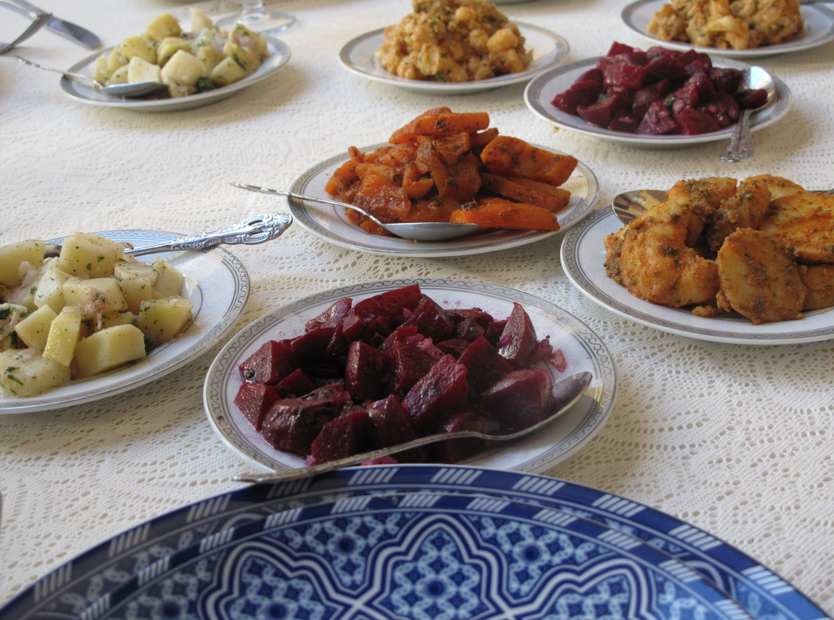 Lunch At Palais Didi In Meknes  Morocco