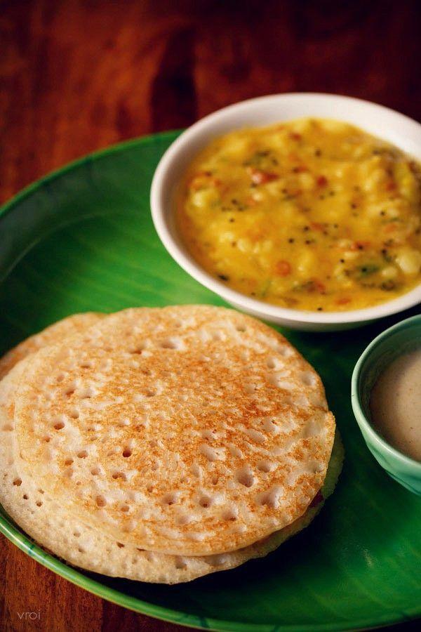 Restaurants Usually Photos Served Spongy Recipe Snacks Light Very Dosa Step With Soft And Setset Resep Makanan India Resep Sarapan Resep Makanan