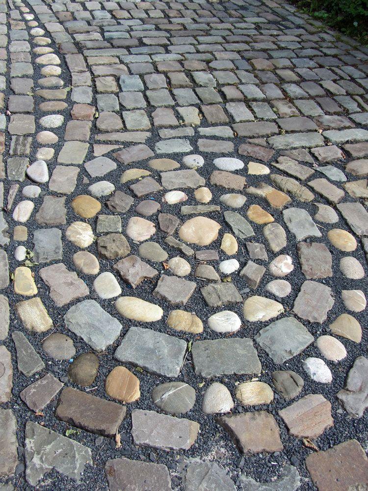 cobbles pflaster garden paths gartenwege pinterest pflaster g rten und gartenweg. Black Bedroom Furniture Sets. Home Design Ideas