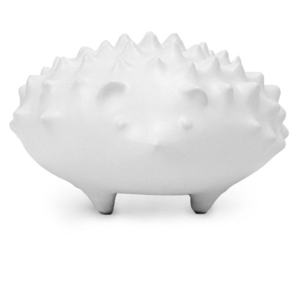 Jonathan Adler Menagerie Hedgehog Statue ($98) ❤ Liked On Polyvore  Featuring Home, Home