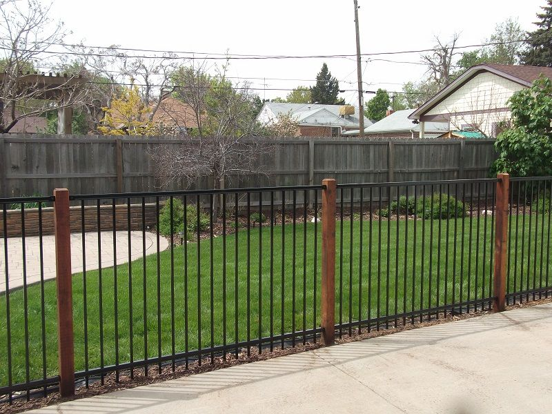 Blog Alpine Fence Of Colorado Llc Wrought Iron Fences Wood Fence Post Wood Post