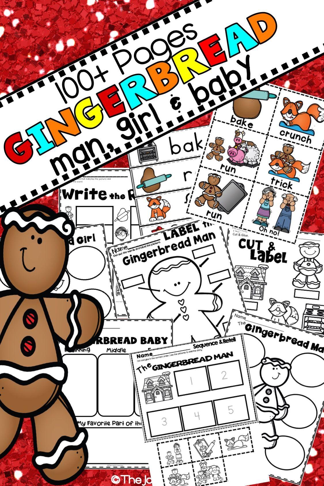 Gingerbread Man Activities
