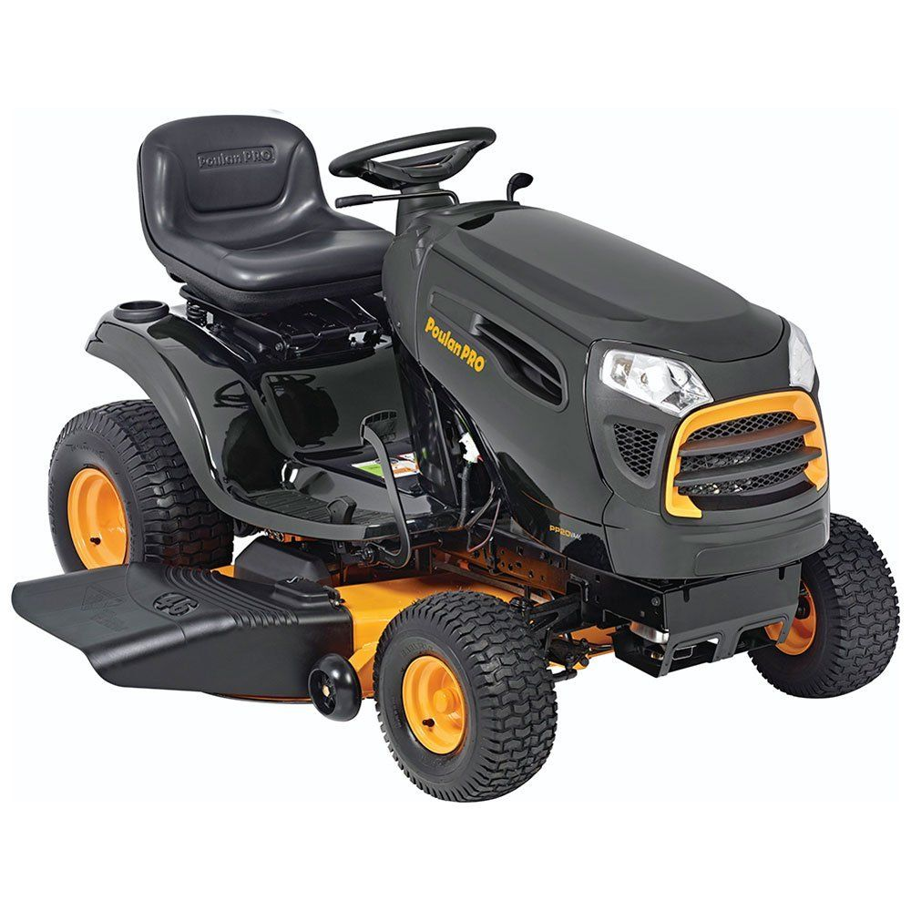 Poulan Pro Riding Lawn Mower Riding Mower Lawn Tractor Best Lawn Tractor