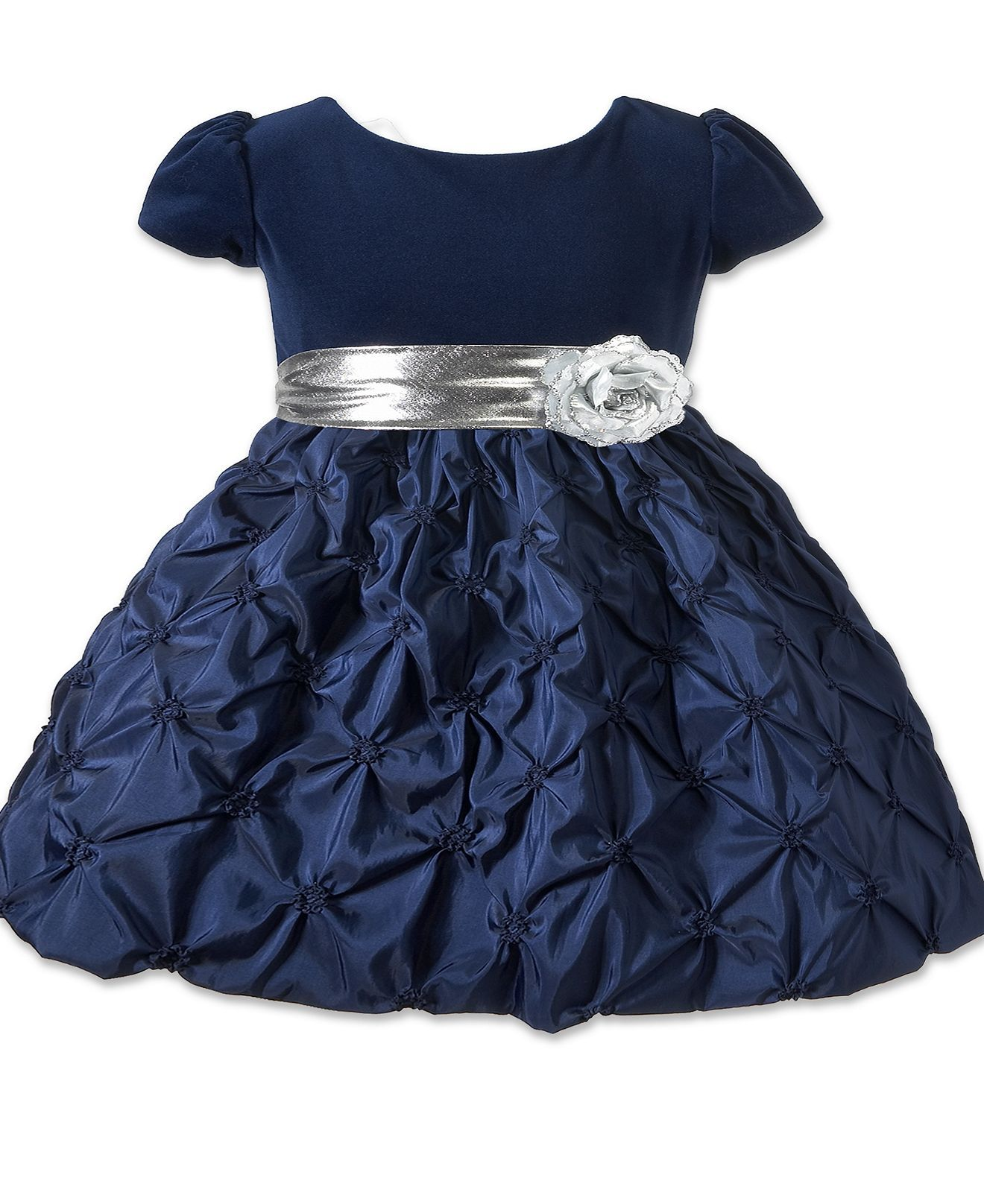 65ff2fe540be Princess Faith Kids Dress, Baby Girls Special Occasion Dress with Sash -  Kids Baby Girl (0-24 months) - Macy's