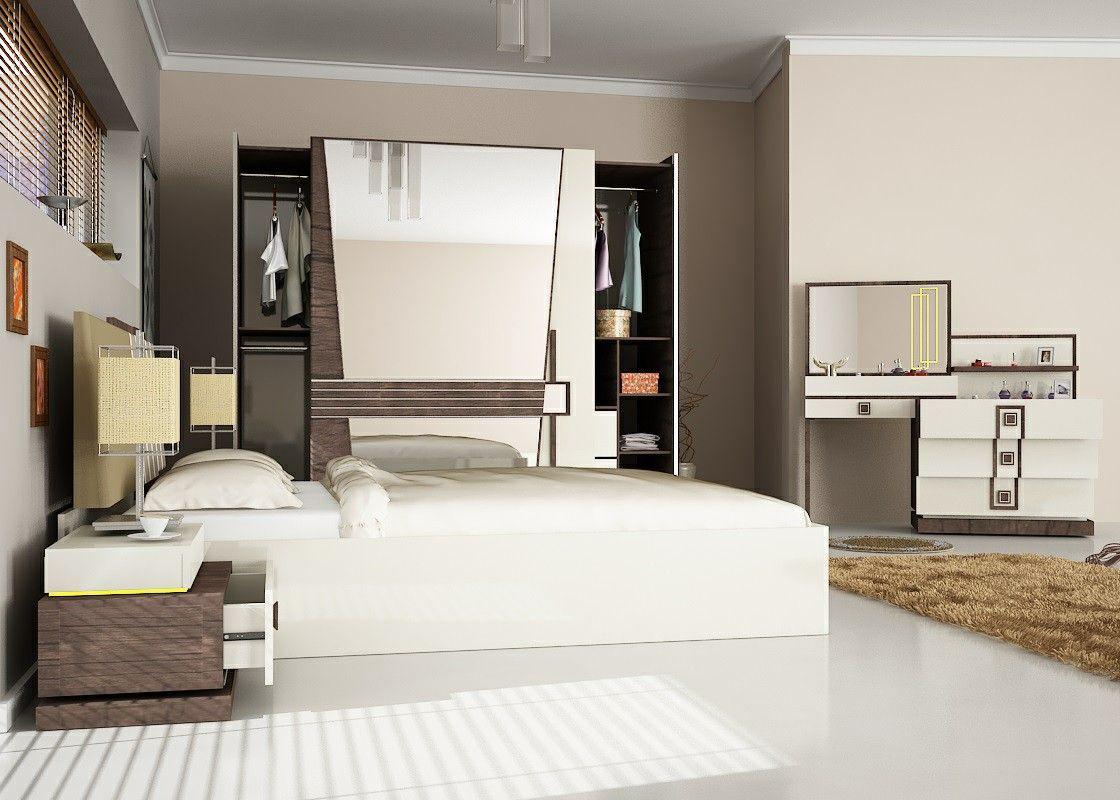 Pera bedroom furniture set turkey wholesale 4 projects - Bedroom furniture made in turkey ...