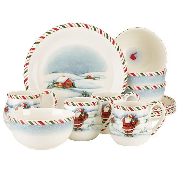 Kathy Ireland Once Upon A Christmas 12 Pc Set Lenox Kathy Ireland Christmas China Ireland Holiday