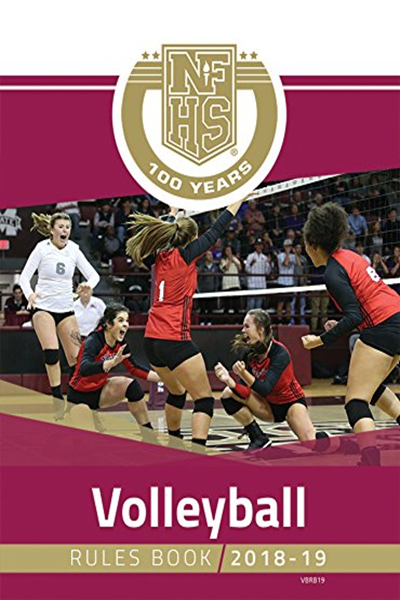2018 19 Nfhs Volleyball Rules Book By Nfhs Amazon Com Services Llc Volleyball Rules Sports Books Books