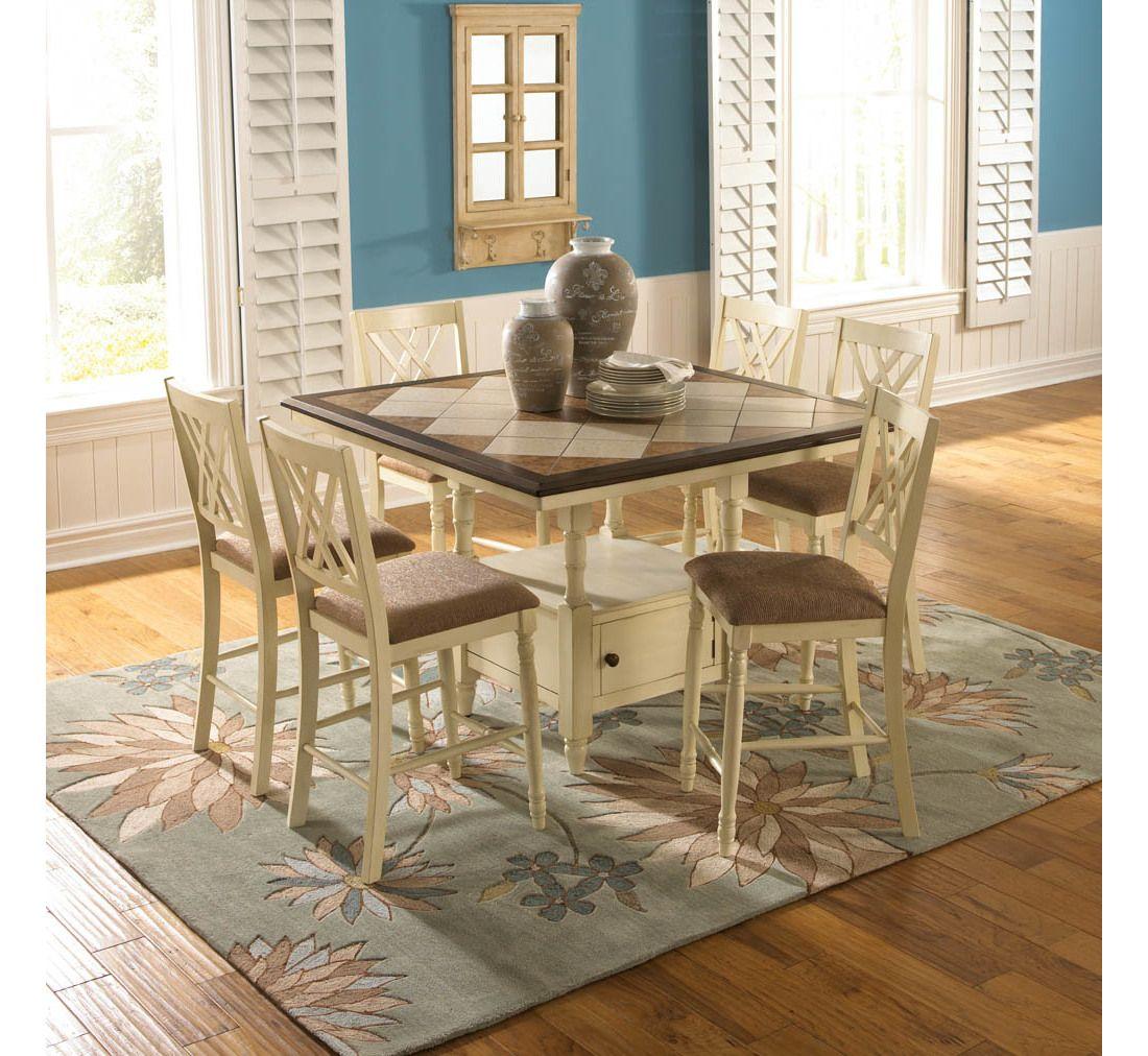 Ashleigh 5 Pc Dining Group  Badcock &more  Home Decor Impressive Badcock Furniture Dining Room Sets Inspiration