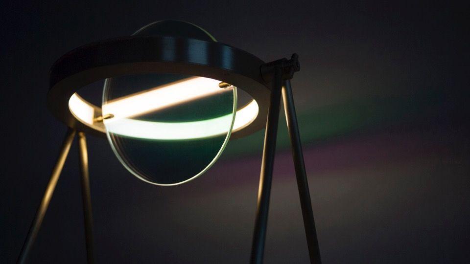 Janus lamp