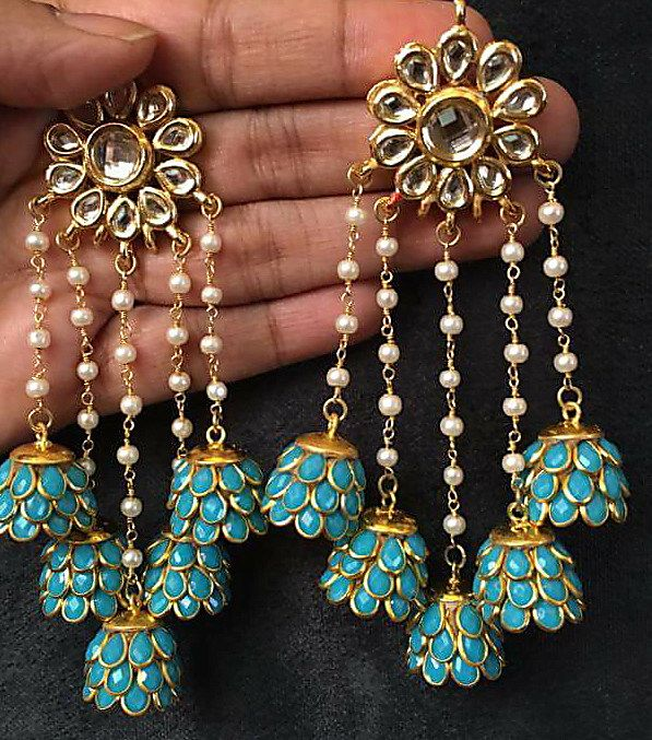 4e9fa80fd Buy Jhummak Earrings online. ✯ 100% authentic products, ✯ Hand curated, ✯  Timely delivery, ✯ Craftsvilla assured.