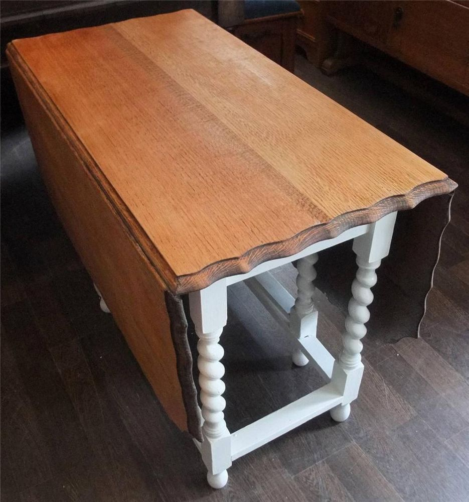 Shabby Chic Painted Gate LegTable Viewings at