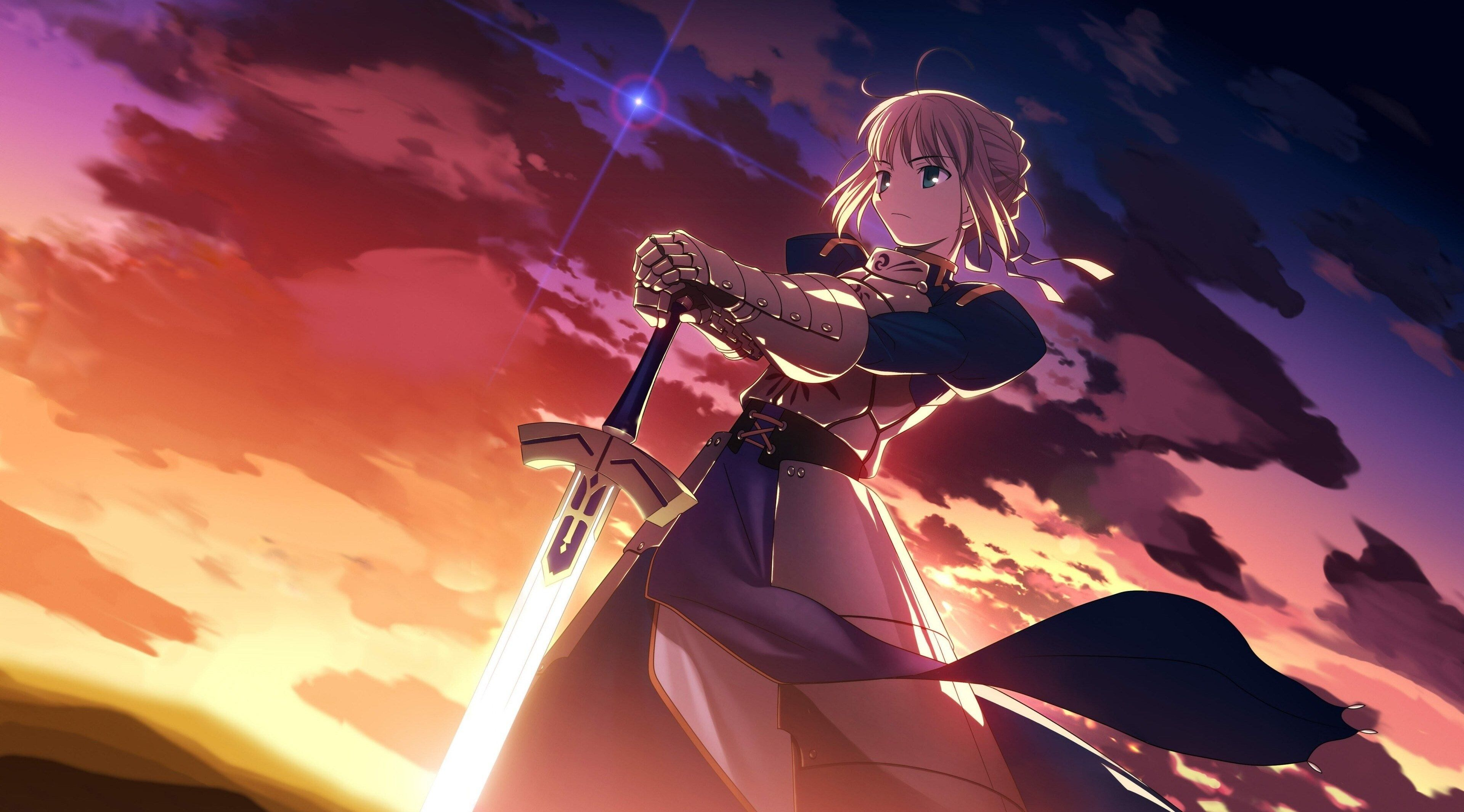3840x2130 Anime 4k Pc Wallpaper Free Anime Wallpaper Anime Warrior Girl Anime Wallpaper Download