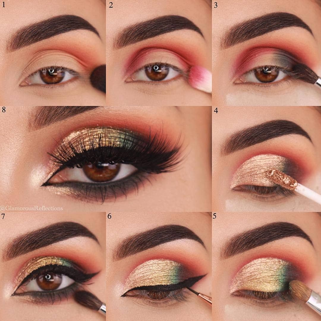 36 Eyeshadow Designs For New Beginner How To Apply Eyeshadow No