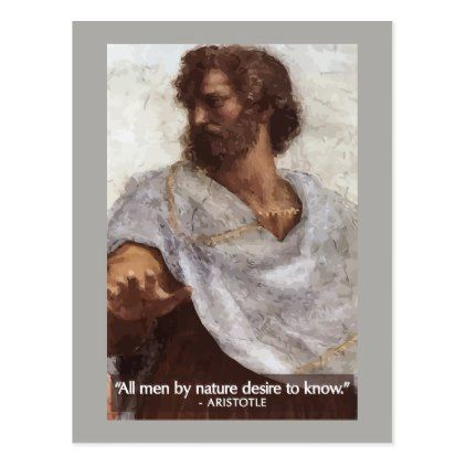 all men by nature desire to know aristotle