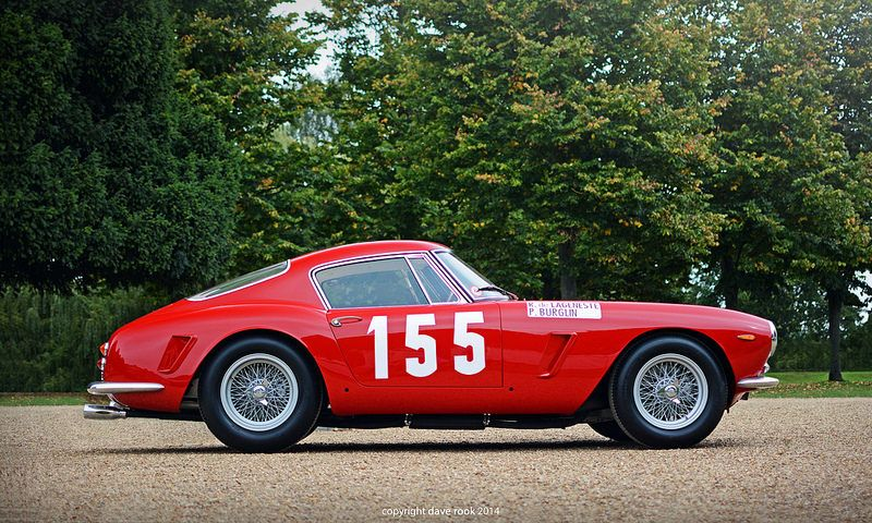 1961 Ferrari 250 GT SWB SEFAC Hot Rod - 2014 Hampton Court Concours of Elegance | Flickr - Photo Sharing!