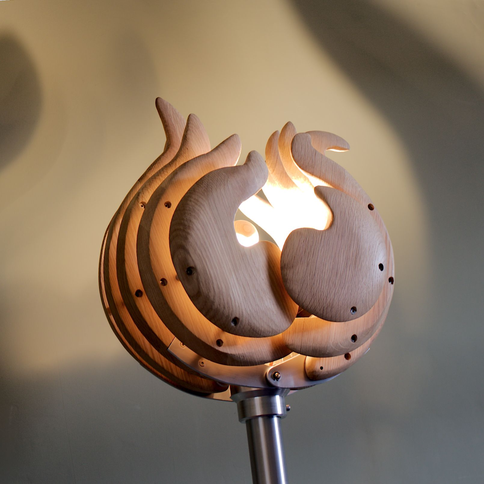 Beacon shine like a sculptural floor lamp this time beacon shine like a sculptural floor lamp this time inspiration for this piece began with thoughts of a single stemmed flower such as a tulip or red aloadofball Choice Image
