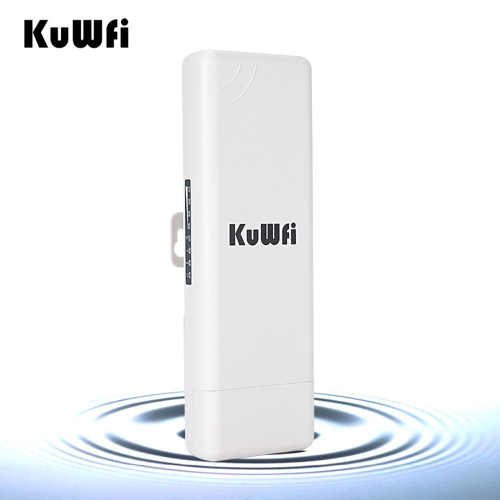 KuWFi Wireless Outdoor CPE WIFI Router 1000mW 2K Distance