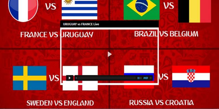 Brazil Vs. Belgium Live Streaming Quarterfinals Belgium