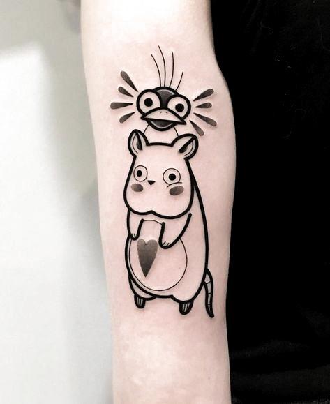 35 Cute Tattoo Designs by Hugo Tattooer - Ninja Cosmico