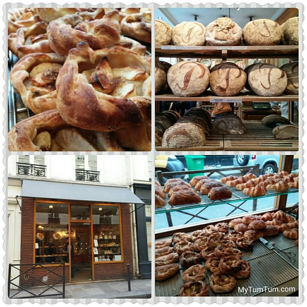 The #French know how to do #baked goods the right way. #carb #heaven! @painpoilane  #croissant #bread #Paris #apple