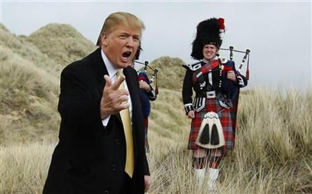 US presidential hopeful also loses honorary degree from university in Aberdeen.