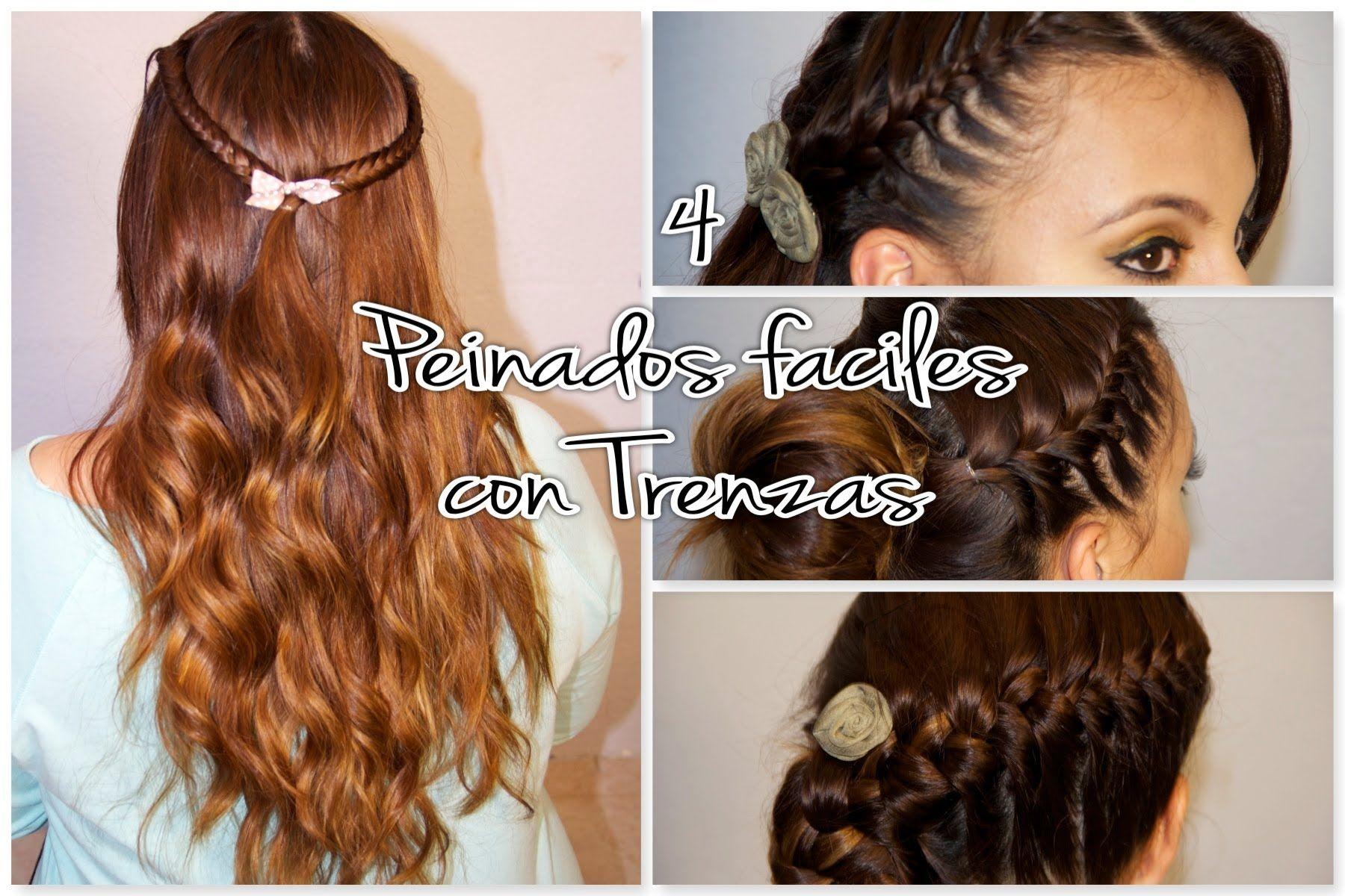 peinados con trenzas fciles y rpidos - Peinados Rapidos Y Faciles