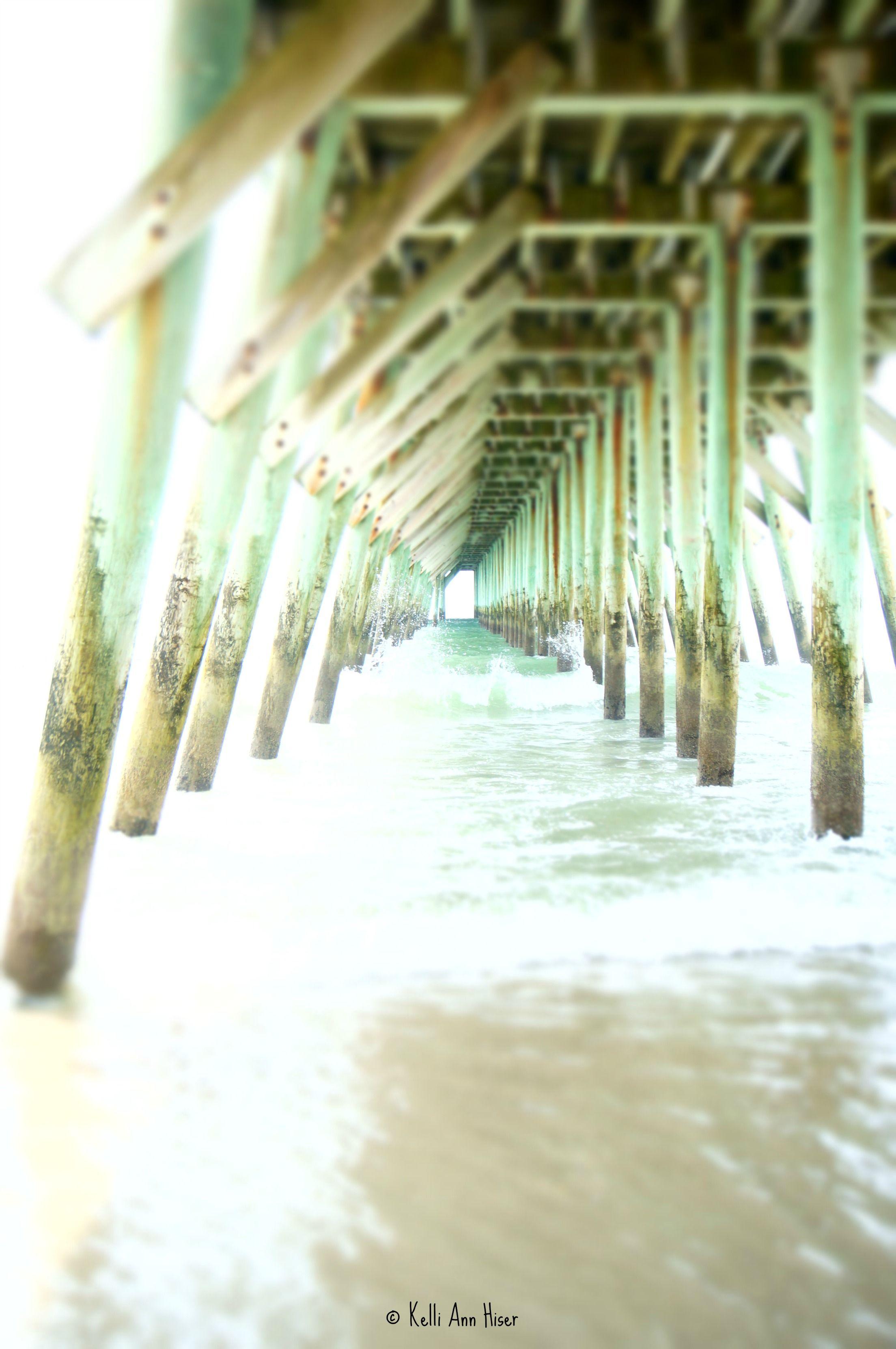 Myrtle Beach State Park's pier Myrtle beach state park