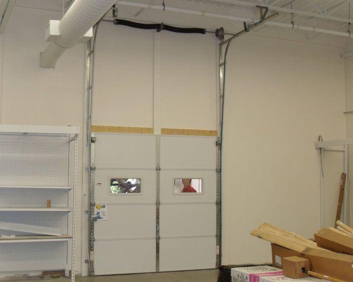 Bon Commercial Garage Door Vertical Lift Up Wall