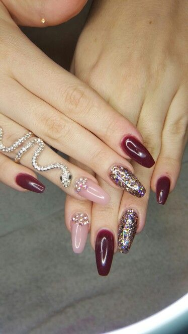 SOUTH AFRICA TAMMY TAYLOR NAILS Berry Wine Acrylic Powder ...