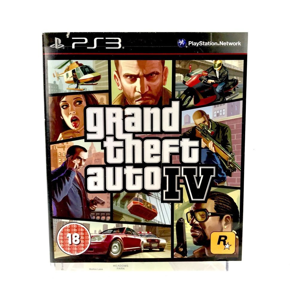 PS3 Grand Theft Auto IV GTA 4 Complete Mint Perfect Disc