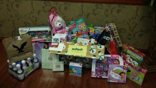 Gift donations for Ronald McDonald Charities Tampa Bay. So thankful for the generosity of our team and patients for a special charity♥
