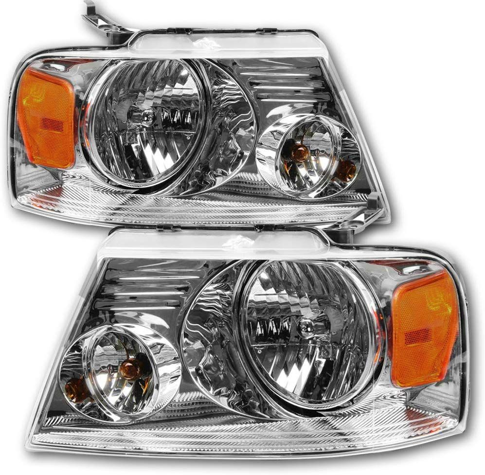Jsboyat Headlight Assembly Replacement For 04 08 Ford F150 Pickup Headlamps Ford F150 Pickup Ford F150 F150