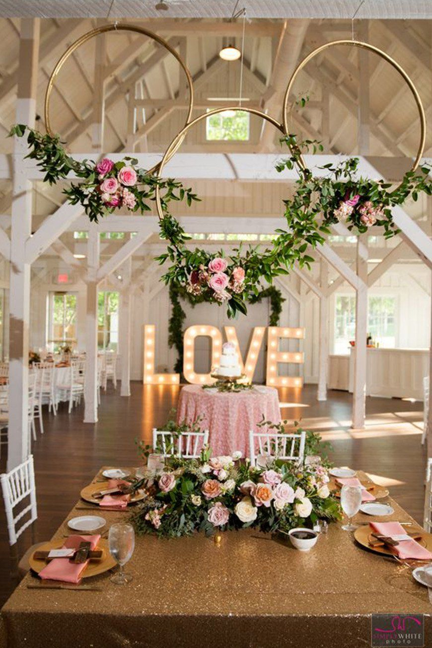 19 Times Flower Hoops Stole The Show CHWV Pink and