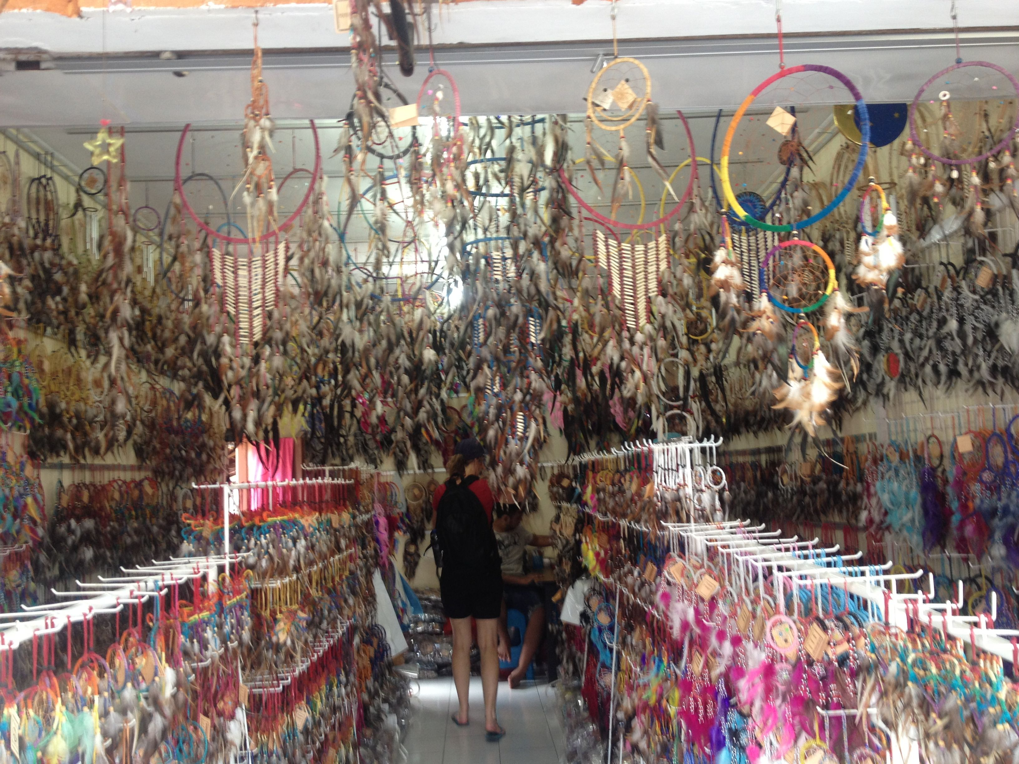Places To Buy Dream Catchers Dream catcher shop in Bali
